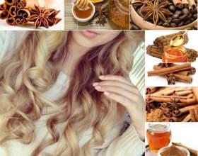 Використання меду для освітлення волосся фото