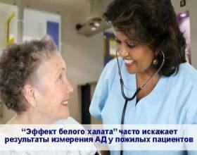 «Ефект білого халата» у літніх пацієнтів фото