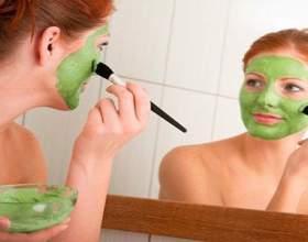 Ефективна огіркова маска від прищів фото