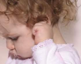 Як лікувати болю в вусі у дітей фото