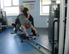Лікувальна фізкультура при остеохондрозі поперекового відділу хребта фото