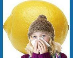 Лимон від застуди фото