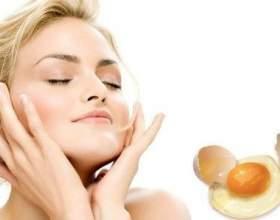 Маска для обличчя з яєчних жовтків і білків фото
