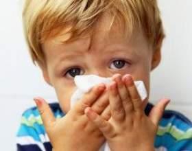 Народне лікування нежиті у дітей фото