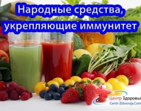 Народні засоби для імунітету фото