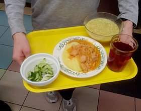 Обід школяра фото