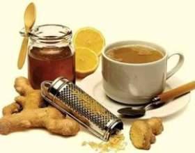 Корисні властивості імбиру з медом і лимоном від кашлю фото