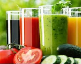 Користь очищувальних соків для організму фото