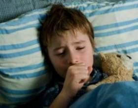 Ознаки прояви нічного кашлю у дитини фото