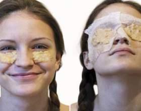 Рецепти масок від мішків під очима фото