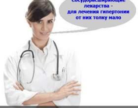Судинорозширювальні ліки від гіпертонії фото