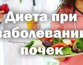 Спеціальне харчування при захворюваннях нирок фото