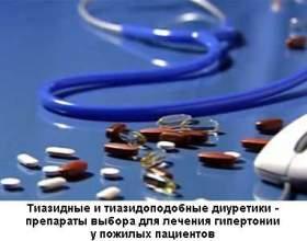 Діуретики для лікування неускладнених форм гіпертонії фото
