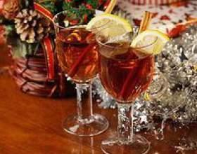 Зимовий напій, рецепт глінтвейну фото